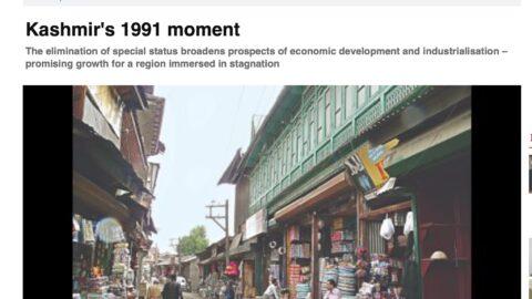 Kashmir's 1991 moment