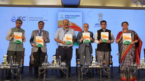 NITI Aayog with Institute for Competitiveness launches India Innovation Index 2019