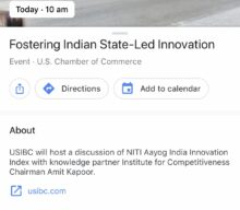 Fostering Indian State-Led Innovation