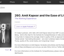 Amit Kapoor and Ease of Living Index