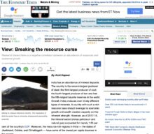 Breaking the Resource Curse