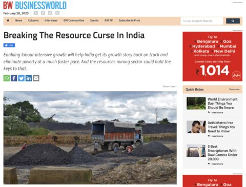 Breaking India's Resource Curse