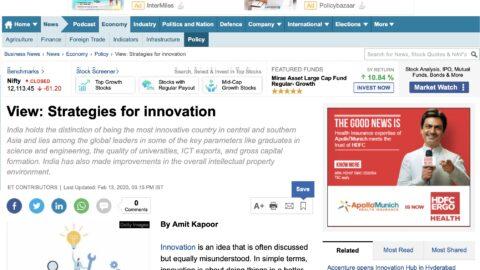 Strategies for Innovation