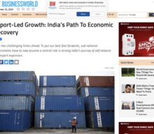 Export-led growth: India's path to economic recovery