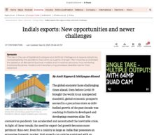 India's exports: New opportunities and newer challenges