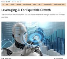 Leveraging AI for equitable growth