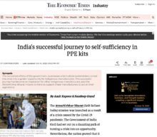 India's successful journey to self-sufficiency in PPE kits