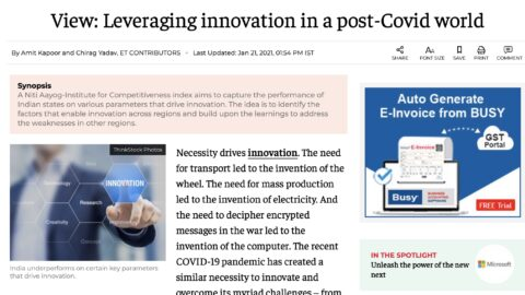 Leveraging Innovation in a Post-COVID World