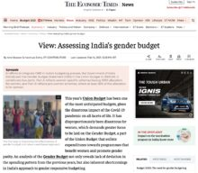 Assessing India's Gender Budget