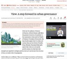 A step forward in urban governance