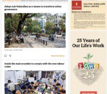 Adopt Sub Federalism as a means to transform Urban Governance
