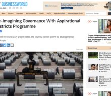 Re-imagining governance with Aspirational Districts Programme