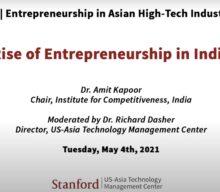 Rise of Entrepreneurship in India
