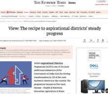 The recipe to aspirational districts' steady progress