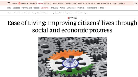 Ease of Living: A step towards improving citizens' lives through social and economic progress